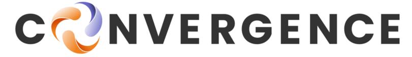 convergence word logo